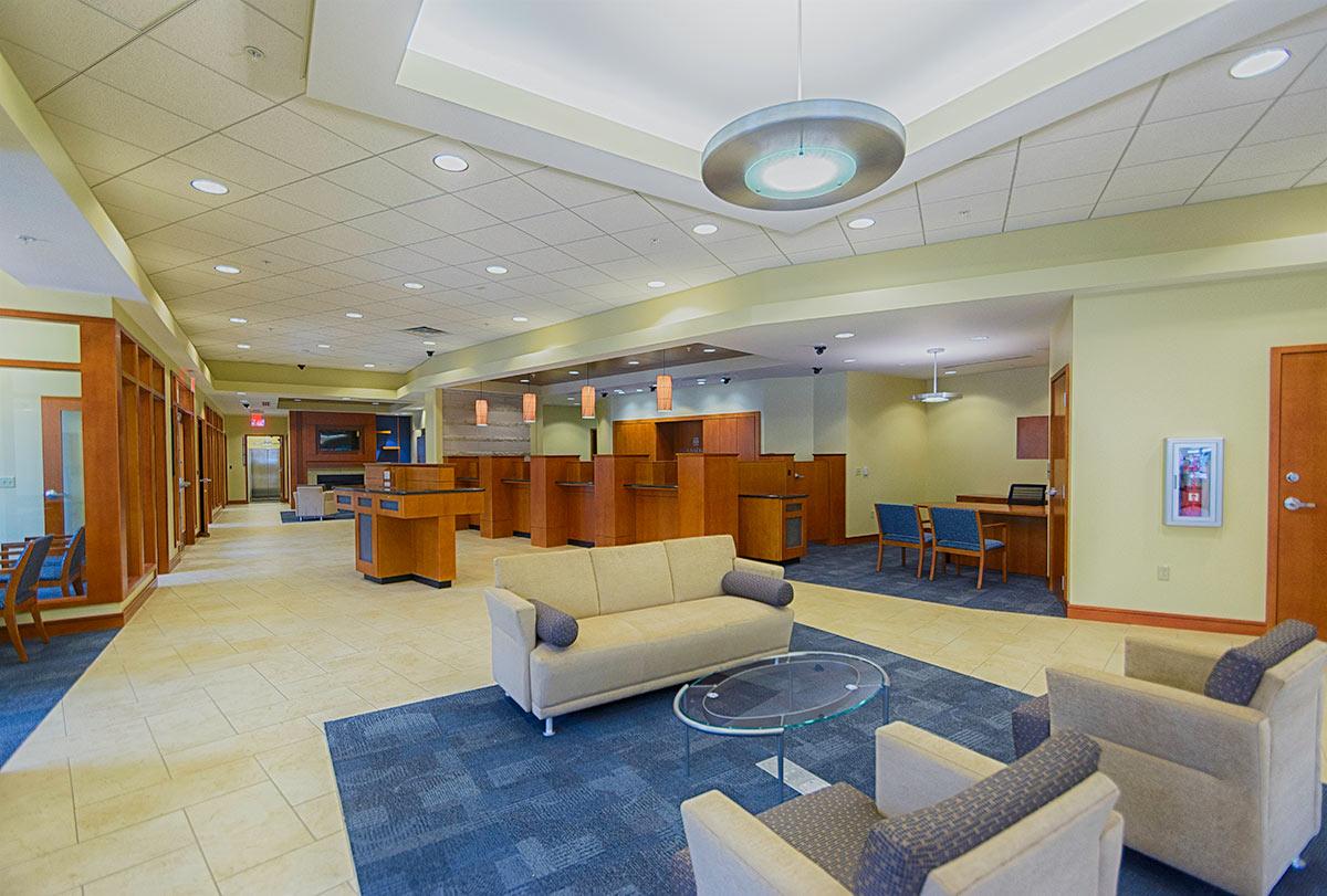 Old National Bank Studio 3 Design